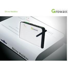 "Growatt ""Shine WebBox"" Solar Monitoring System"
