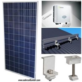 10 kW Schutten +Growatt Solar Roof Top