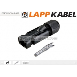 """LAPP KABEL"" EPIC® SOLAR M+F Connector"