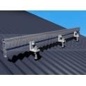 Solar Aluminium Rail 4.2m รางอลูมิเนียมยึดแผงโซล่าเซลล์ ยาว 4.2 เมตร