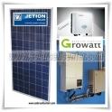 10 kW  Jetion Solar + Growatt Inverter