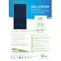 GCL 320W แผงโซล่าร์เซลล์  (GCL-P6/72H_320W)