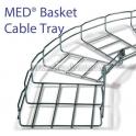 """MED® Cable Mesh Tray """"มีดี"""" รางตะแกรงสายไฟ"""