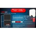 3.21 kW Solar Rooftop โซล่ารูฟท็อป 3.21 กิโลวัตต์