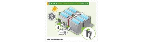 โซล่ารูฟ อาคาร เล็ก-กลาง-ใหญ่ Commercial Solar PV Rooftop