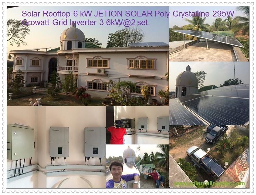 solar rooftop 6kW