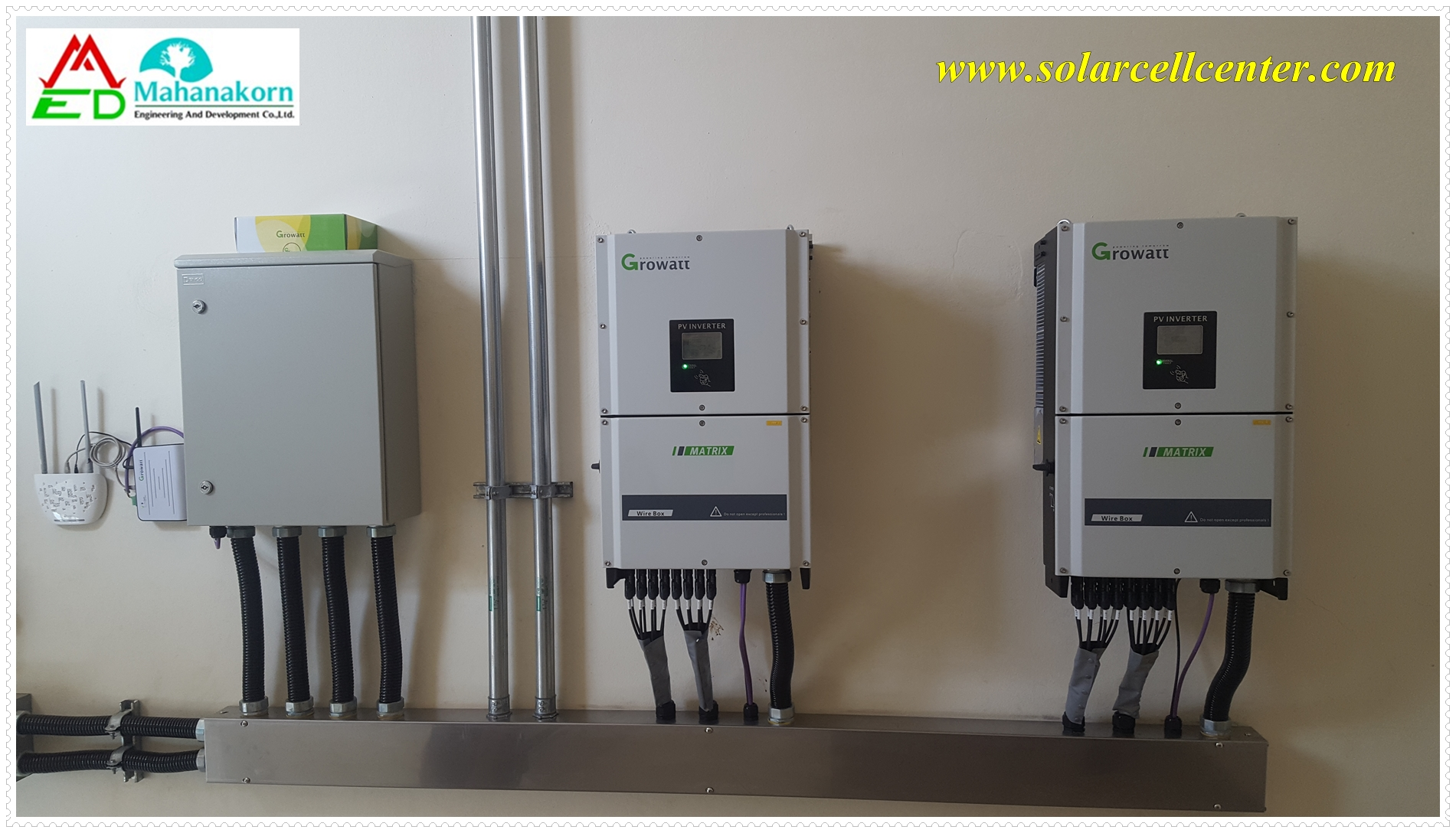 growatt/Growatt 4000TL3 NS Installation