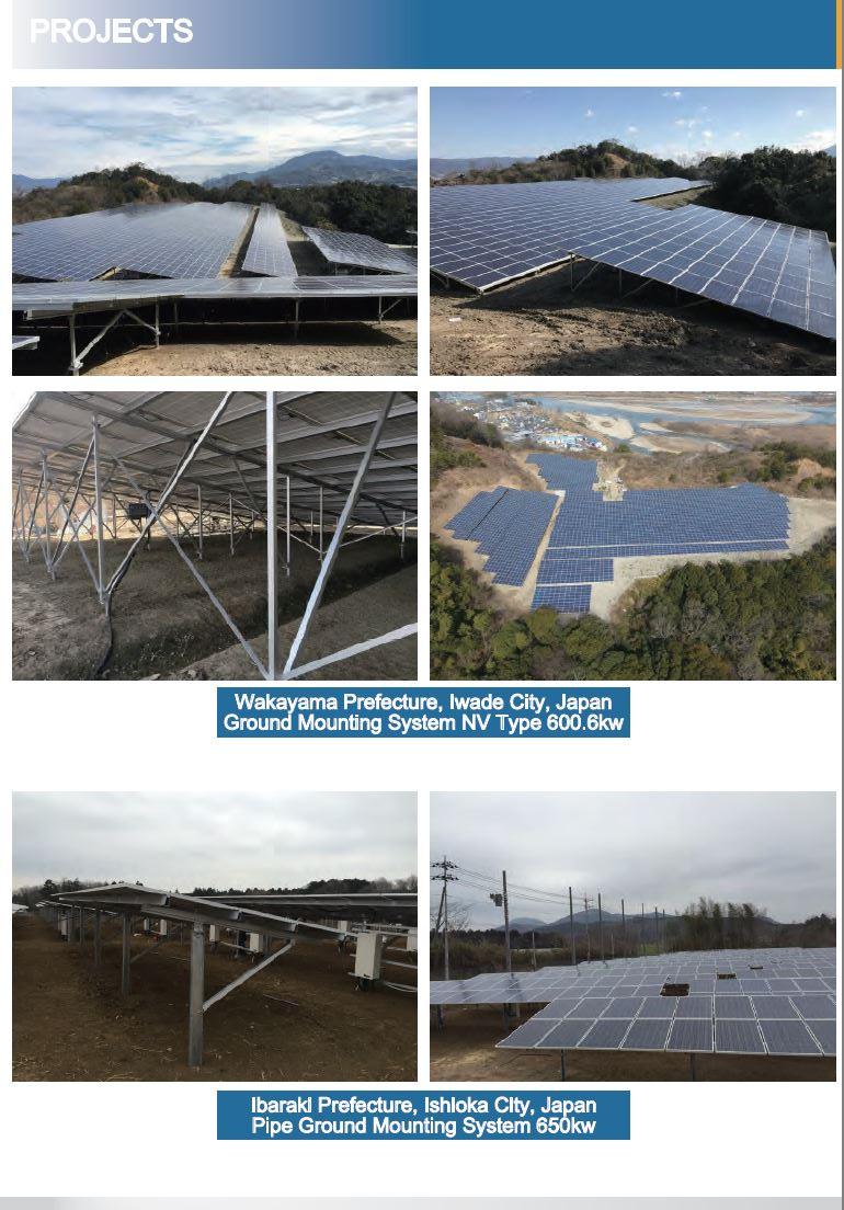 Kinsend Solar Mounting อุปกรณ์ติดตั้งโซลาร์เซลล์ มาตรฐานญี่ปุ่น (JIS Standard)