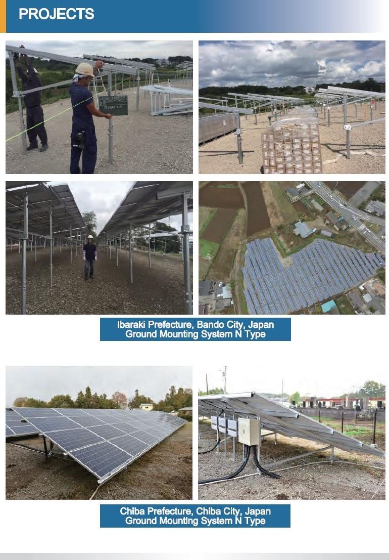 Kinsend Solar Mounting Thailandอุปกรณ์ติดตั้งโซลาร์เซลล์ มาตรฐานญี่ปุ่น (JIS Standard)