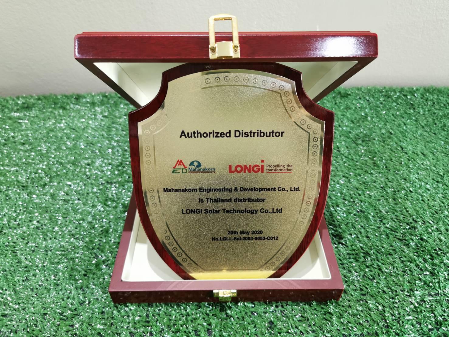 ตัวแทยจำหน่ายแผงลองกิโซล่าร์ LONGi Solar อย่างเป็นทางการในไทย