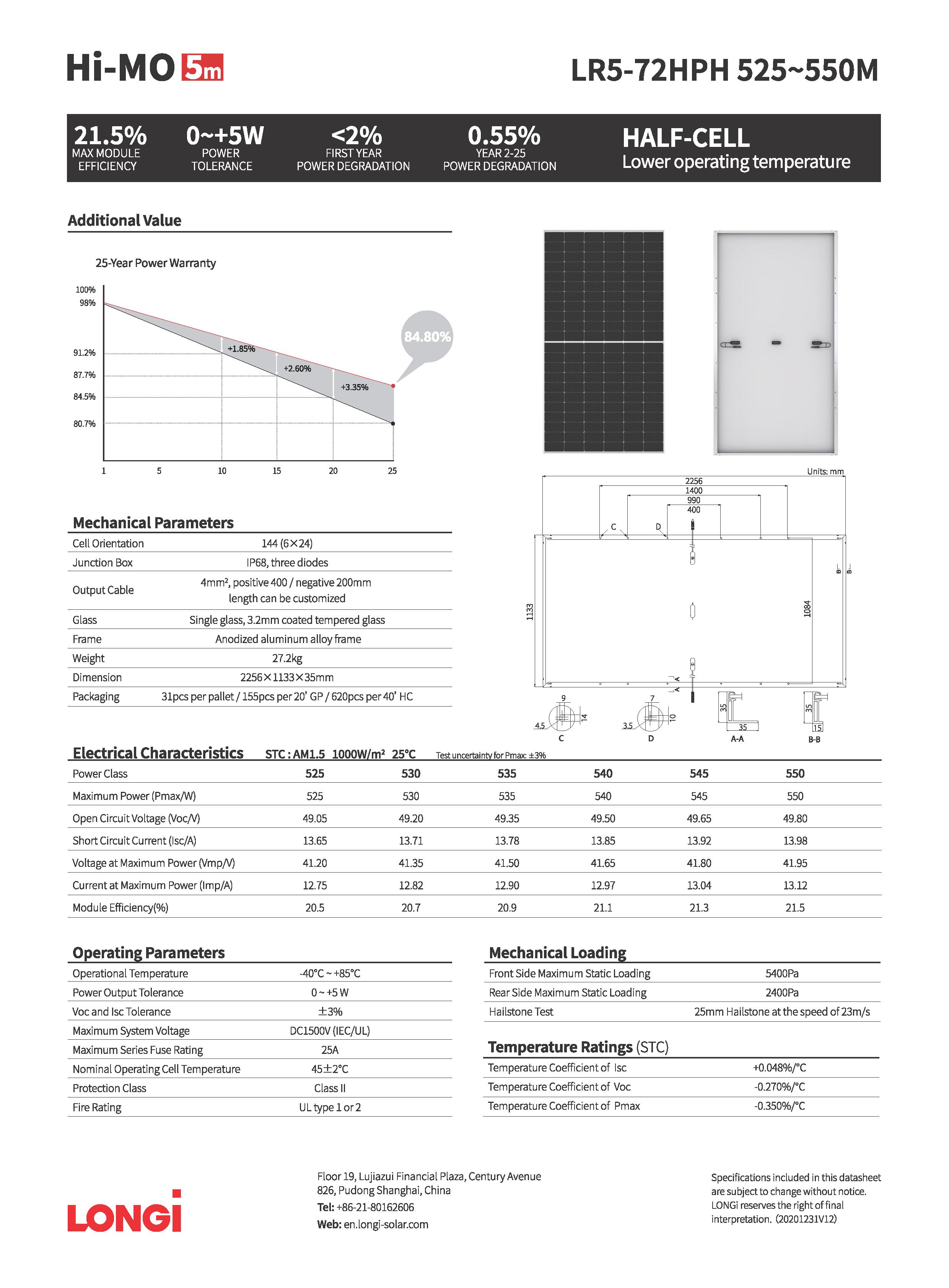 http://solarcellcenter.com/img/cms/LONGi Solar Mono PV/LR5-72HPH 525-550M data sheet_Page_2.png