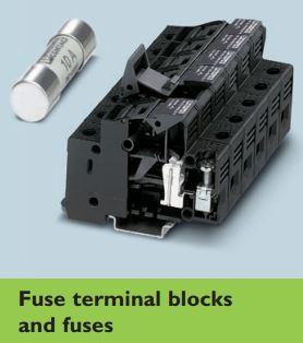 Phoenix Contact/Fuse terminal blocks