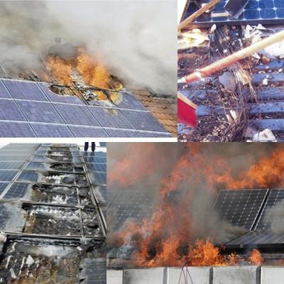 PV fire ไฟไหม้ บ้าน