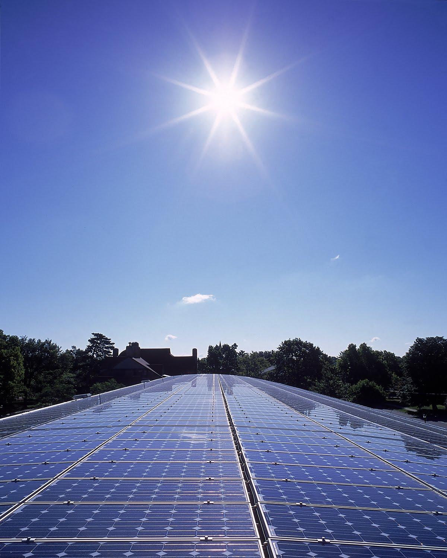 solar cell แผงโซล่าเซลล์สีน้ำเงินกระจกทนความร้อน