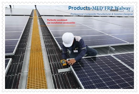 MED® FRP Gratings Walkway ทางเดินไฟเบอร์กลาส