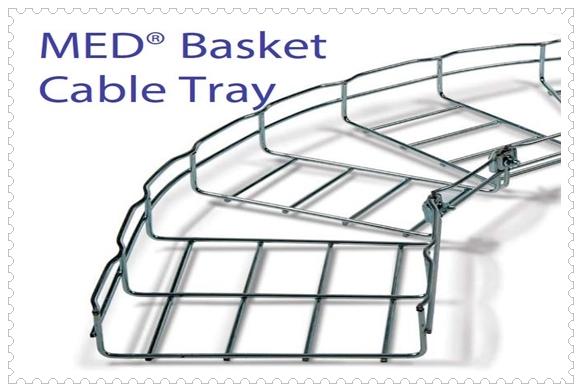 MED® Mesh Tray รางตะแกรงสายไฟ
